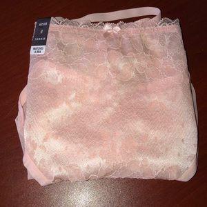 Torrid Hipster Strap Pink Panties SZ 3